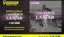 L'As King – «C'est Jesus La Star», single maintenant disponible