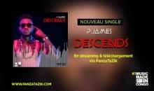 """P James – """"Descends"""" single maintenant disponible"""