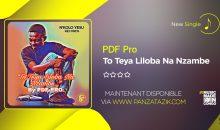 PDF Pro – «Teya Liloba Na Nzambe» (nouveau single)
