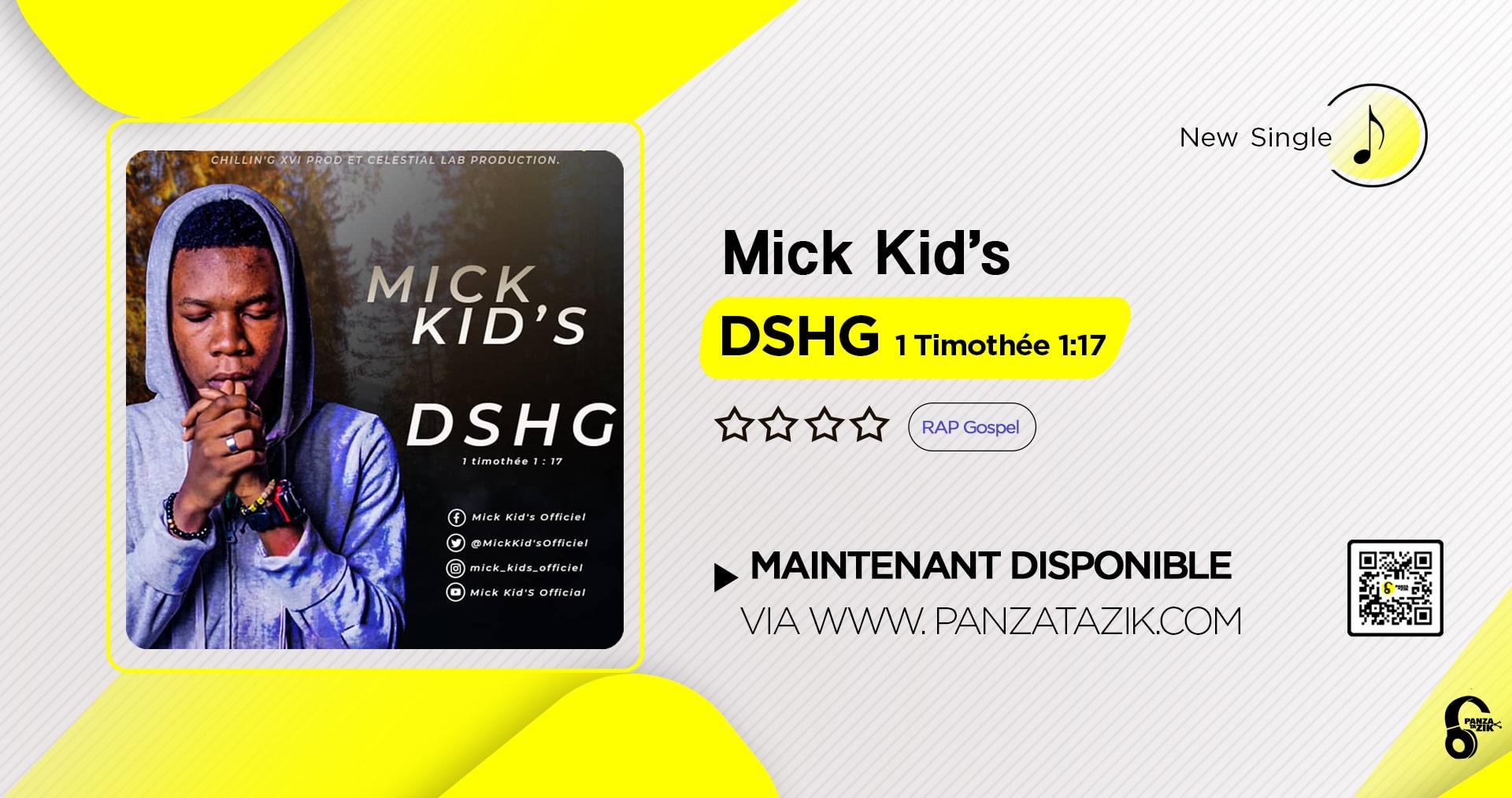 Mick Kid's – DSHG (Timothée 1:17)