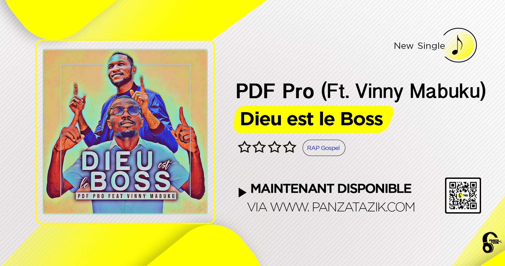 Pdf Pro – Dieu est le Boss (Ft. Vinny Mabuku)