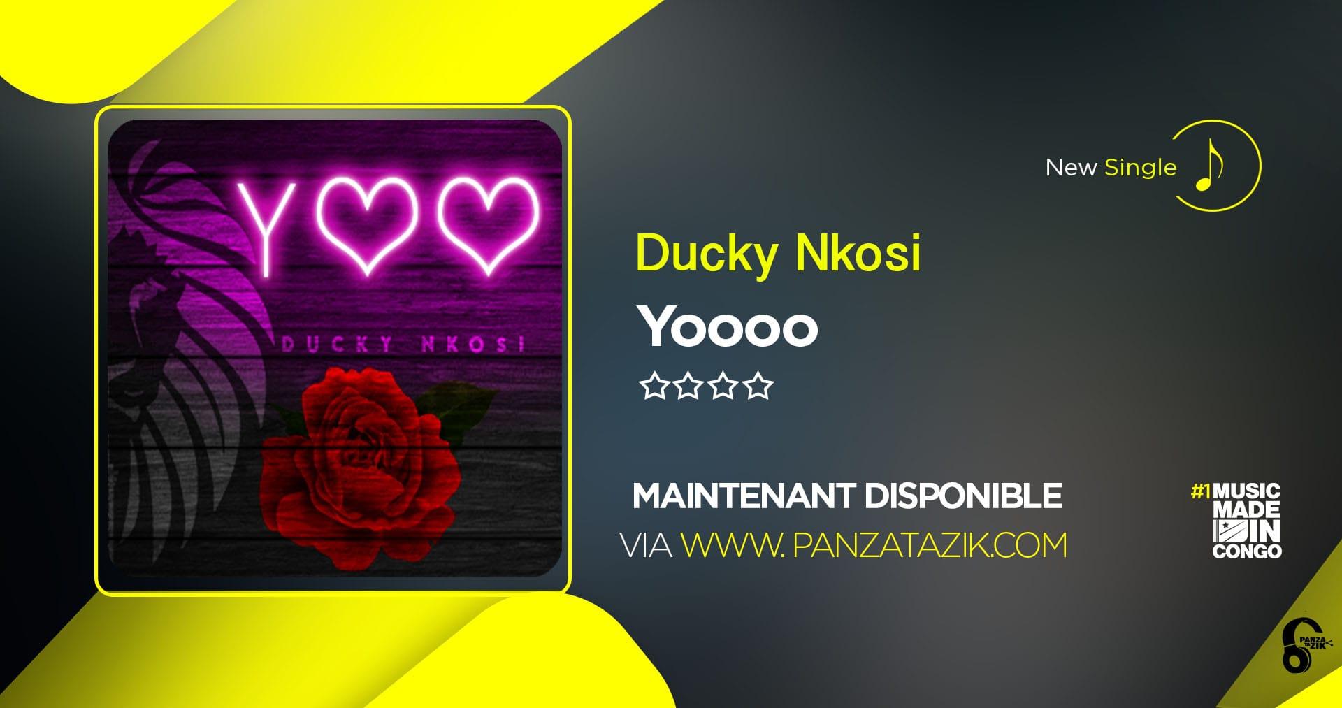 «Ducky Nkosi» offre un avant-goût de son nouvel album avec le single «Yoooo»