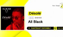 "All Black – ""Désolé"" (single disponible)"