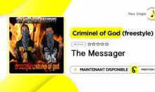 The Messager – Criminel of God (single disponible)